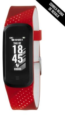 Smart watch MAREA BEAT  2 correas roja/negra