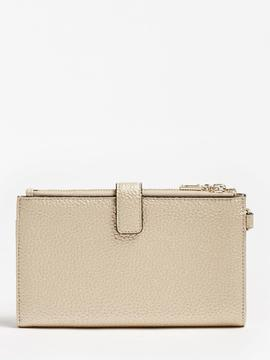 Cartera GUESS  UPTOWN CHICgold doble