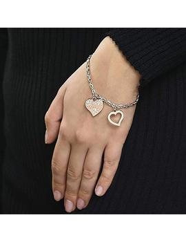 Pulsera GUESS Heart Warming Cuore Rose