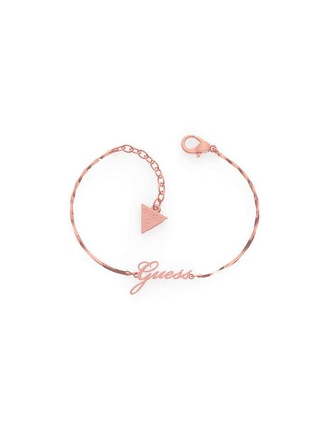 Pulsera GUESS Get Lucky Logo Rose