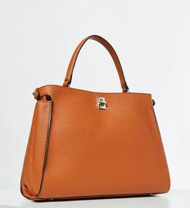 Bolso GUESS UPTOWN CHIC Cognac
