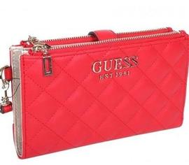 Cartera GUESS Melise Rojo