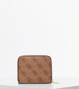 Mini Cartera GUESS Open Road Beige